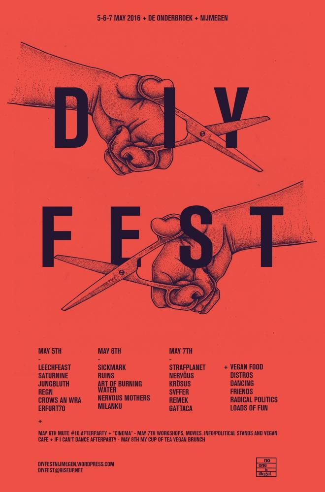 DIY Fest 2016 Poster